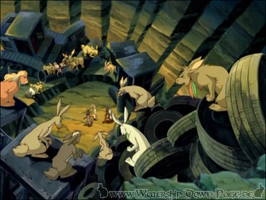 Der Kampfplatz der Kaninchen von Darkhaven (Serie)