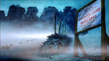 Die Anschlagtafel und Sandleford bei Nacht (Film)