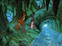 In der Sicherheit des Tunnels warten die vier darauf, dass die Efrafas wieder abziehen