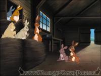 Hazel, Fiver und Pipkin befreien die Farmkaninchen