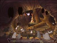 In der Honigwabe teilen die Kaninchen allen Tieren ihre Aufgabe zur Rettung zu