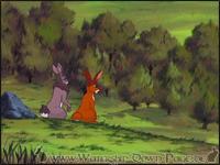 Hazel und Bigwig bewundern den Obstgarten